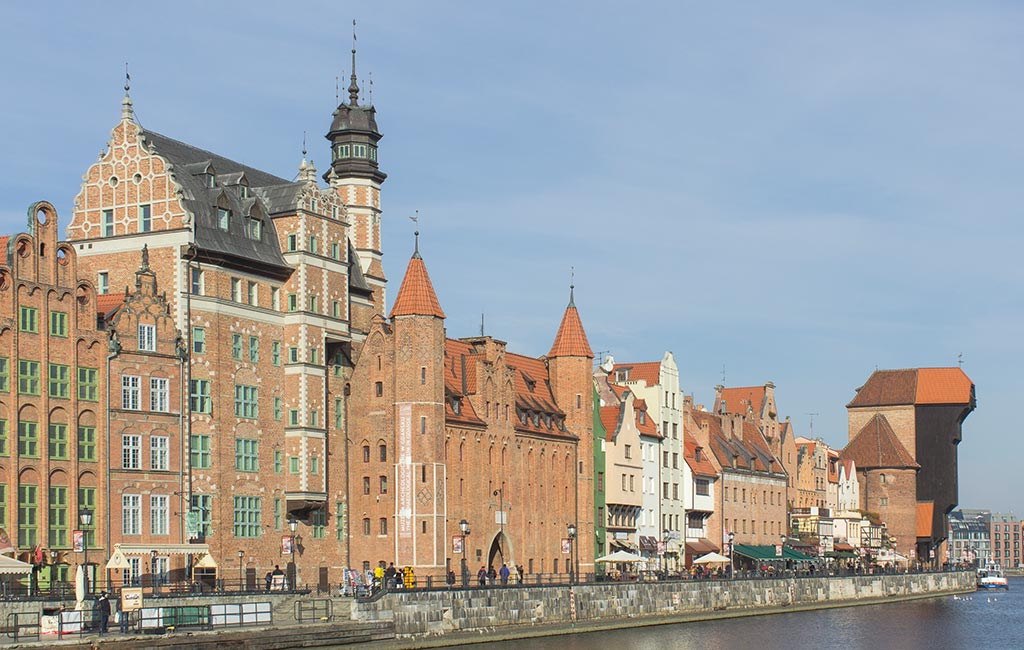 Places of interest in Gdansk