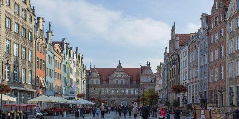 Lage des Hotels in Danzig